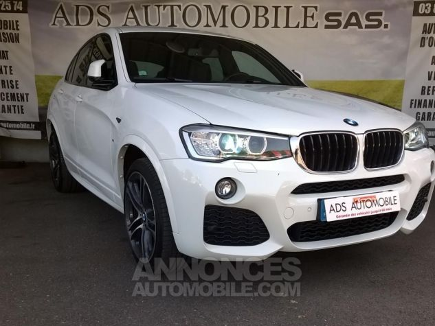 BMW X4 XDRIVE20DA 190CH M Sport  Blanc Occasion - 0