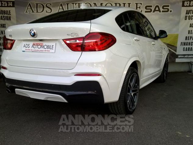 BMW X4 XDRIVE20DA 190CH M Sport  Blanc Occasion - 1