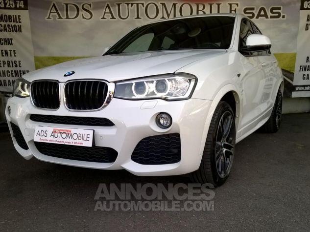 BMW X4 XDRIVE20DA 190CH M Sport  Blanc Occasion - 2