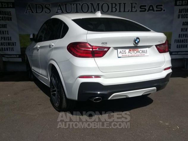 BMW X4 XDRIVE20DA 190CH M Sport  Blanc Occasion - 3