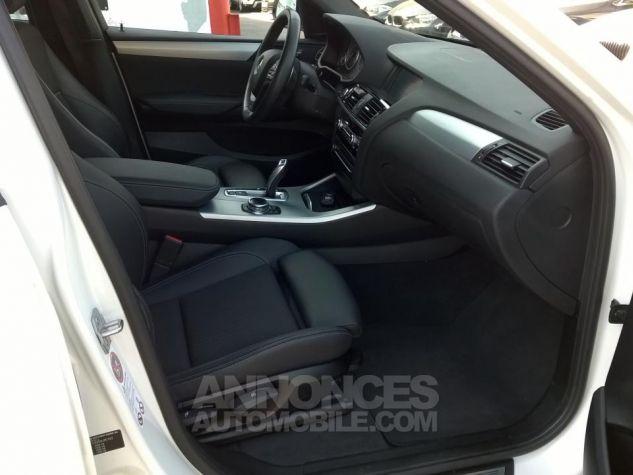 BMW X4 XDRIVE20DA 190CH M Sport  Blanc Occasion - 5