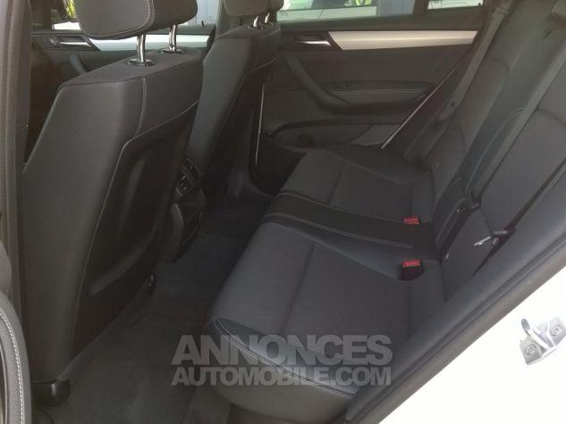 BMW X4 XDRIVE20DA 190CH M Sport  Blanc Occasion - 9