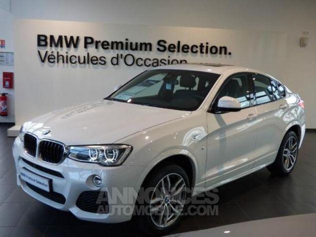 BMW X4 xDrive20dA 190ch M Sport Alpinweiss uni Occasion - 0