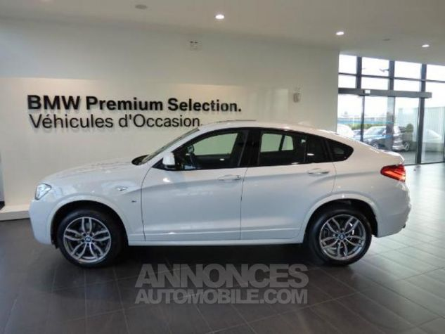 BMW X4 xDrive20dA 190ch M Sport Alpinweiss uni Occasion - 3