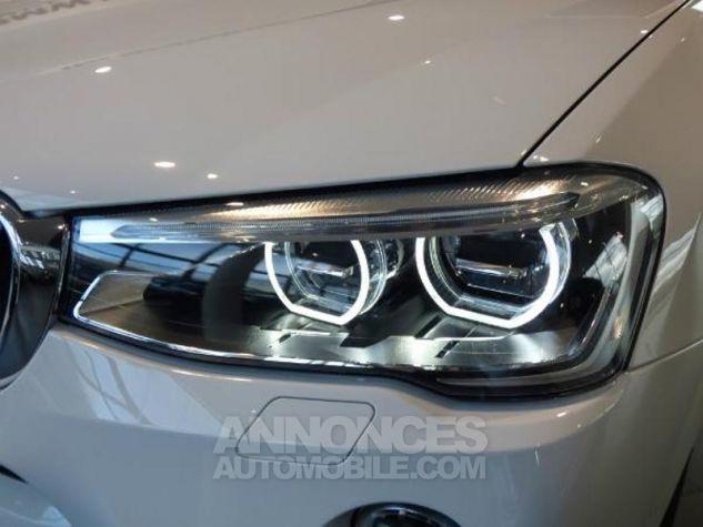BMW X4 xDrive20dA 190ch M Sport Alpinweiss uni Occasion - 4