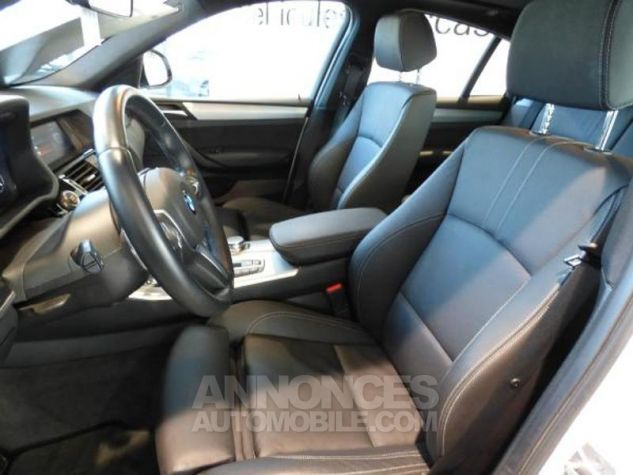 BMW X4 xDrive20dA 190ch M Sport Alpinweiss uni Occasion - 8