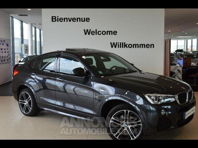 BMW X4 xDrive20dA 190ch M Sport Sophistograu metallise Occasion - 0