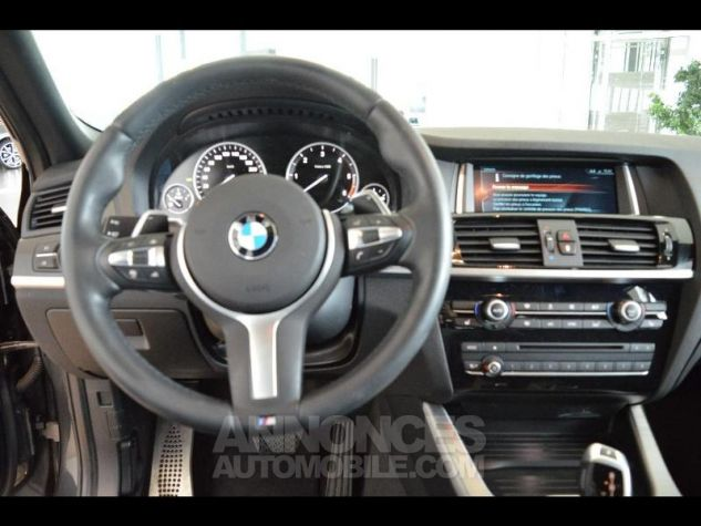 BMW X4 xDrive20dA 190ch M Sport Sophistograu metallise Occasion - 4