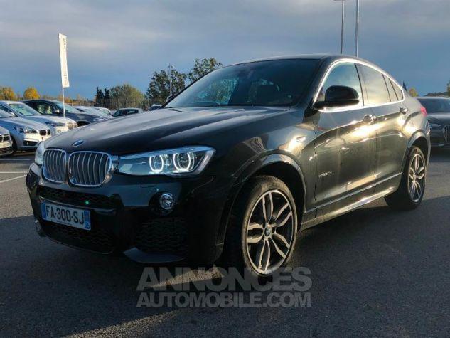 BMW X4 xDrive30dA 258ch M Sport Saphirschwarz metallise Occasion - 0