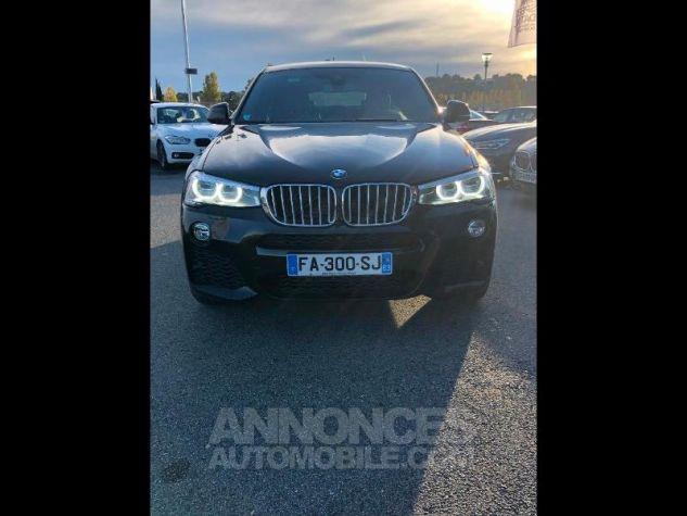 BMW X4 xDrive30dA 258ch M Sport Saphirschwarz metallise Occasion - 1