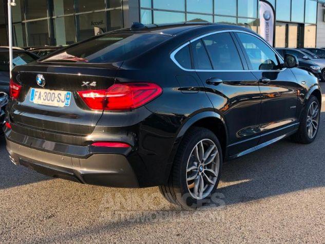 BMW X4 xDrive30dA 258ch M Sport Saphirschwarz metallise Occasion - 3