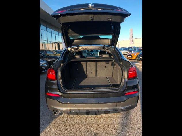 BMW X4 xDrive30dA 258ch M Sport Saphirschwarz metallise Occasion - 4