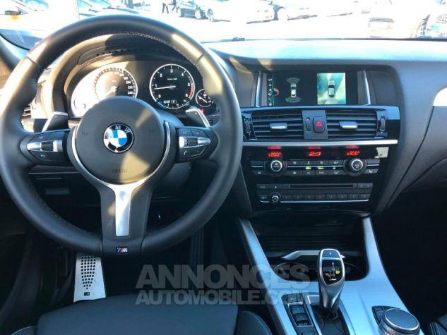 BMW X4 xDrive30dA 258ch M Sport Saphirschwarz metallise Occasion - 5
