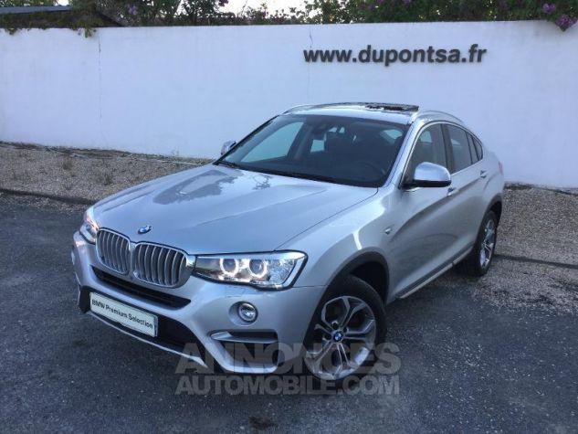 BMW X4 xDrive30dA 258ch xLine Glaciersilber metallise Occasion - 0