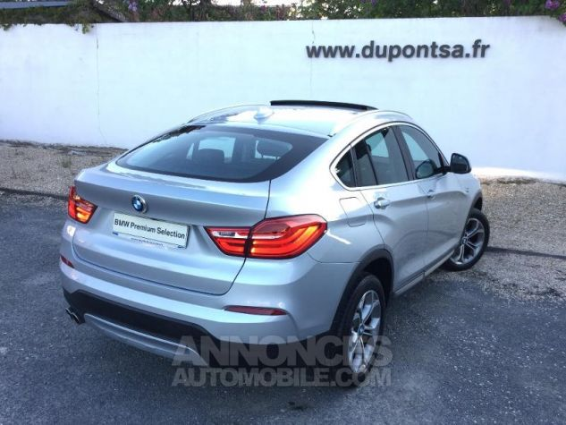 BMW X4 xDrive30dA 258ch xLine Glaciersilber metallise Occasion - 1