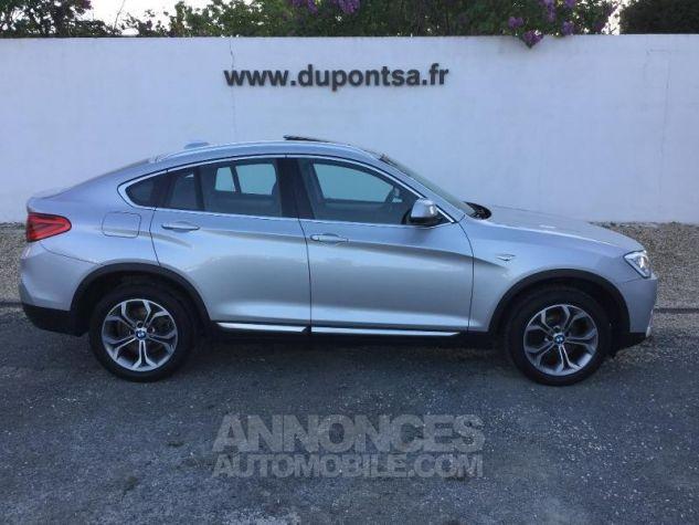 BMW X4 xDrive30dA 258ch xLine Glaciersilber metallise Occasion - 10