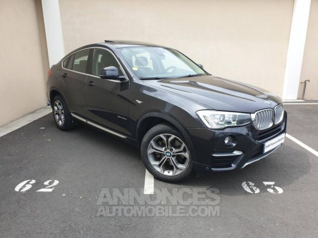 BMW X4 xDrive30dA 258ch xLine Sophistograu Occasion - 0