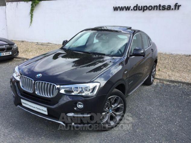 BMW X4 xDrive30dA 258ch xLine Sophistograu metallisee Occasion - 0