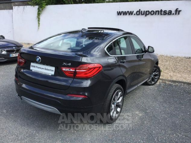 BMW X4 xDrive30dA 258ch xLine Sophistograu metallisee Occasion - 1