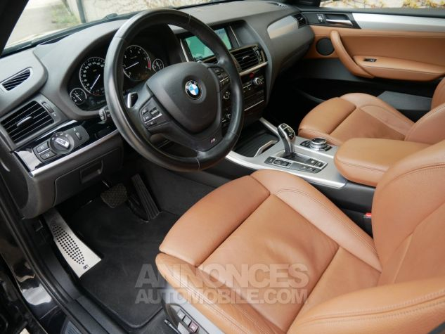 BMW X4 xDrive35d M Sport, Toit ouvrant, HUD, TV, Attelage Noir Saphir métallisé Occasion - 5