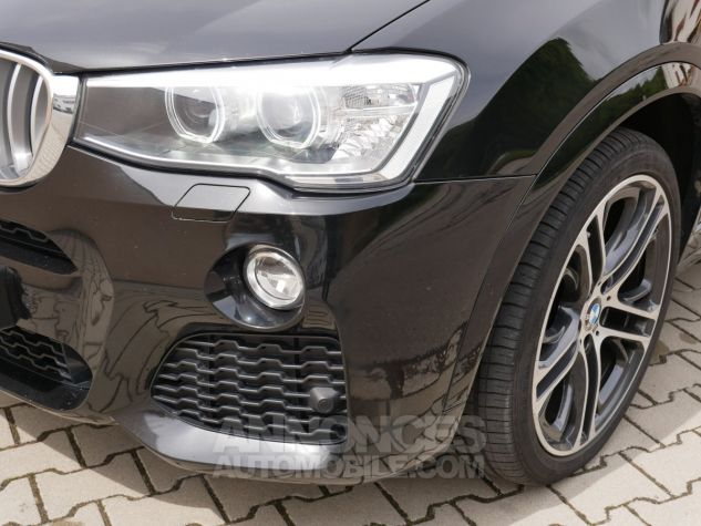 BMW X4 xDrive35d M Sport, Toit ouvrant, HUD, TV, Attelage Noir Saphir métallisé Occasion - 10