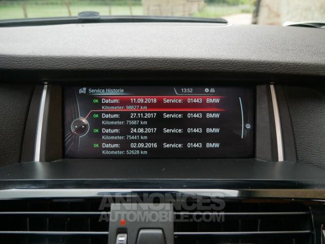 BMW X4 xDrive35d M Sport, Toit ouvrant, HUD, TV, Attelage Noir Saphir métallisé Occasion - 21