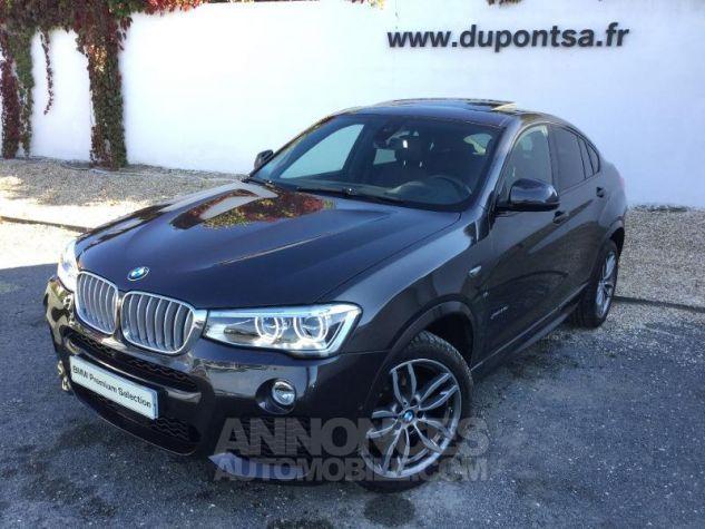 BMW X4 xDrive35dA 313ch M Sport Sophistograu metallise Occasion - 0