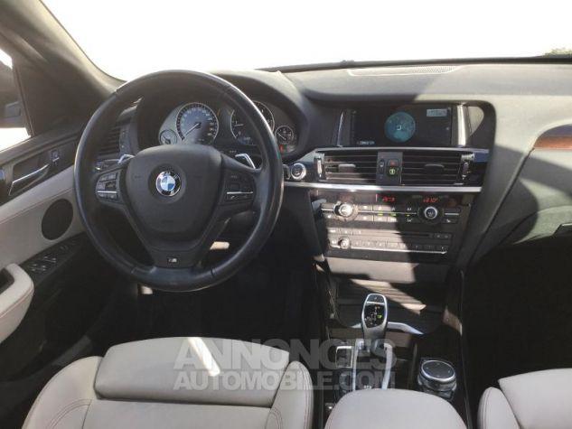 BMW X4 xDrive35dA 313ch xLine Tiefseeblau metallise Occasion - 4
