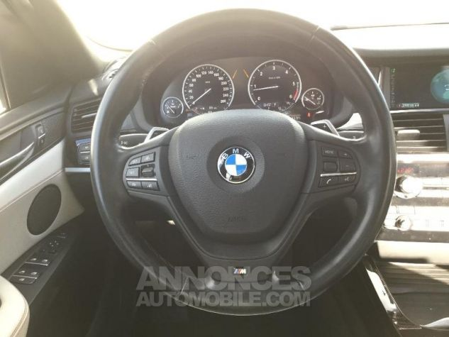 BMW X4 xDrive35dA 313ch xLine Tiefseeblau metallise Occasion - 5