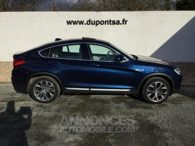 BMW X4 xDrive35dA 313ch xLine Tiefseeblau metallise Occasion - 10