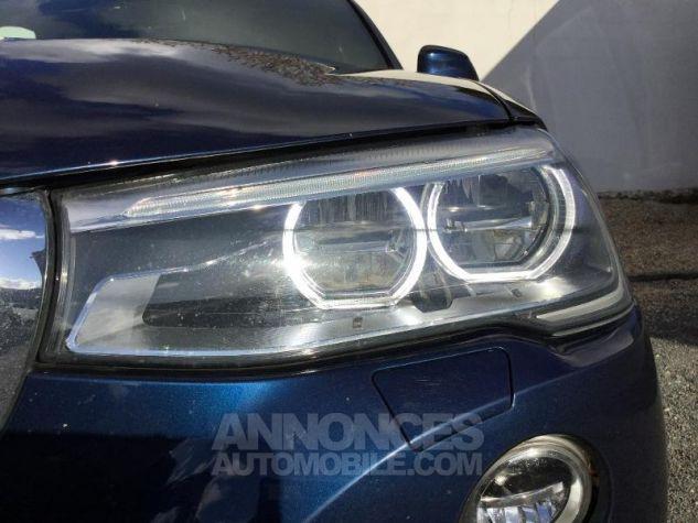 BMW X4 xDrive35dA 313ch xLine Tiefseeblau metallise Occasion - 11