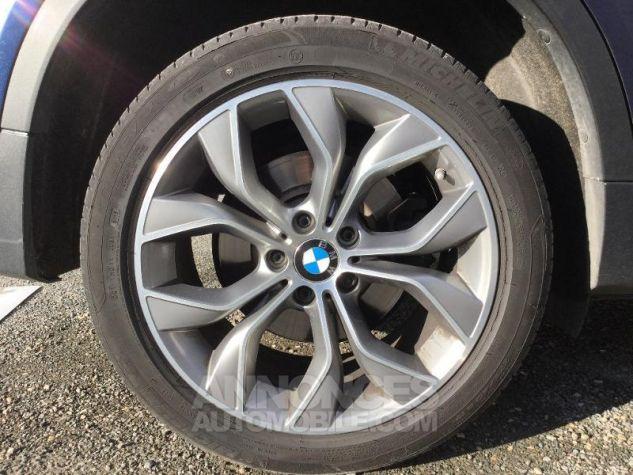 BMW X4 xDrive35dA 313ch xLine Tiefseeblau metallise Occasion - 12