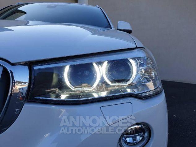 BMW X4 xDrive35dA 313ch xLine Mineralweiss Occasion - 11