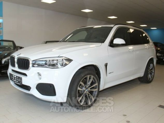 BMW X5 35i xDrive pack M Blanc alpin Occasion - 1