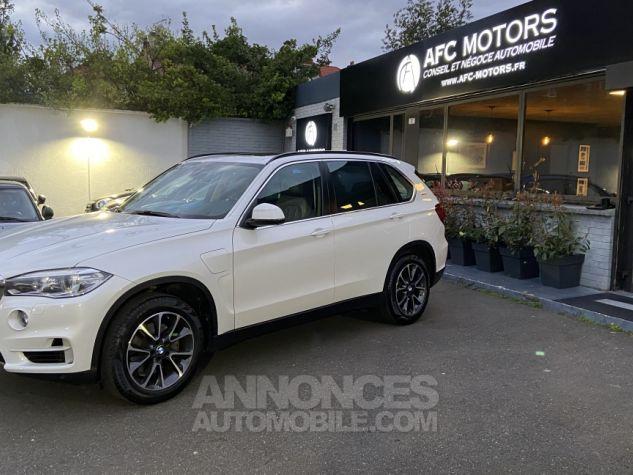BMW X5 X-drive 40e 313 ch BVA8 Exclusive BVA8 BLANC Occasion - 0