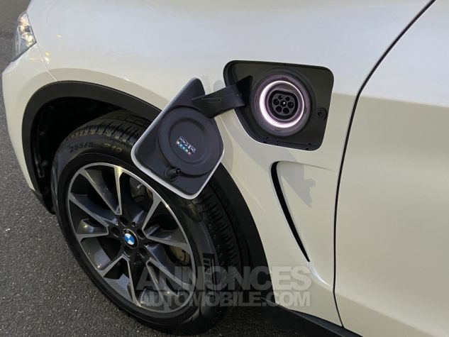 BMW X5 X-drive 40e 313 ch BVA8 Exclusive BVA8 BLANC Occasion - 3
