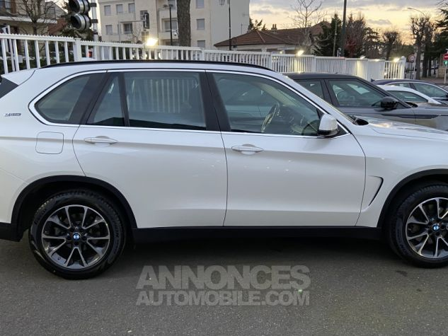 BMW X5 X-drive 40e 313 ch BVA8 Exclusive BVA8 BLANC Occasion - 5