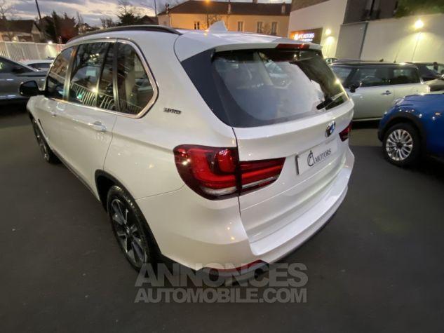 BMW X5 X-drive 40e 313 ch BVA8 Exclusive BVA8 BLANC Occasion - 7