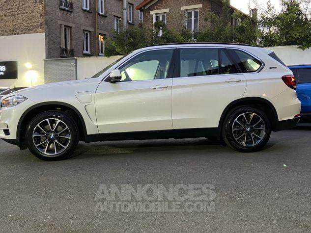 BMW X5 X-drive 40e 313 ch BVA8 Exclusive BVA8 BLANC Occasion - 9