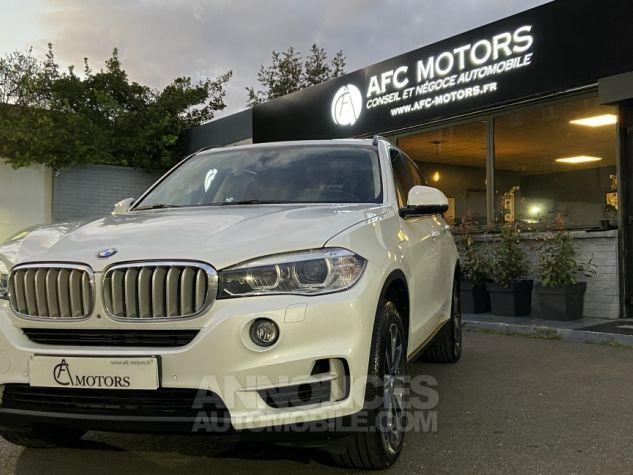 BMW X5 X-drive 40e 313 ch BVA8 Exclusive BVA8 BLANC Occasion - 10