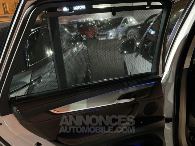 BMW X5 X-drive 40e 313 ch BVA8 Exclusive BVA8 BLANC Occasion - 25