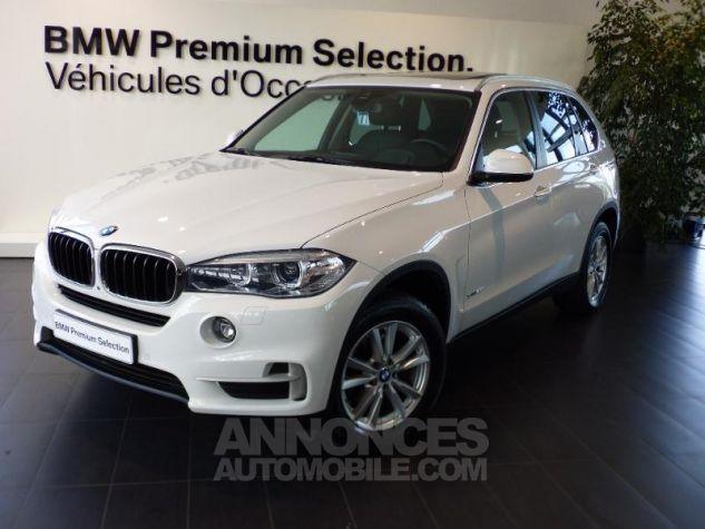 BMW X5 xDrive25dA 231ch Lounge Plus Alpinweiss uni Occasion - 0