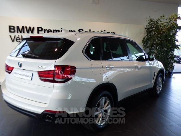 BMW X5 xDrive25dA 231ch Lounge Plus Alpinweiss uni Occasion - 1