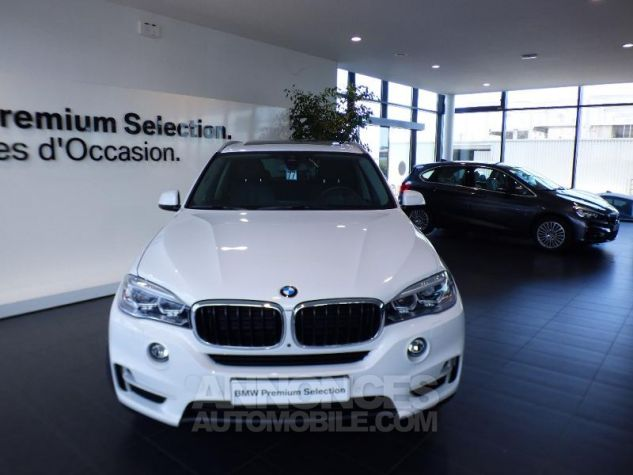 BMW X5 xDrive25dA 231ch Lounge Plus Alpinweiss uni Occasion - 3