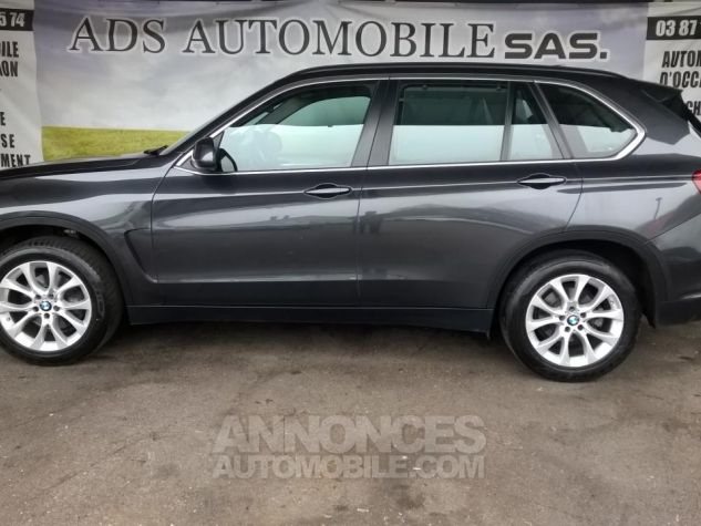 BMW X5 XDRIVE30D 258CH 7PLACE Lounge Plus A Gris Occasion - 9