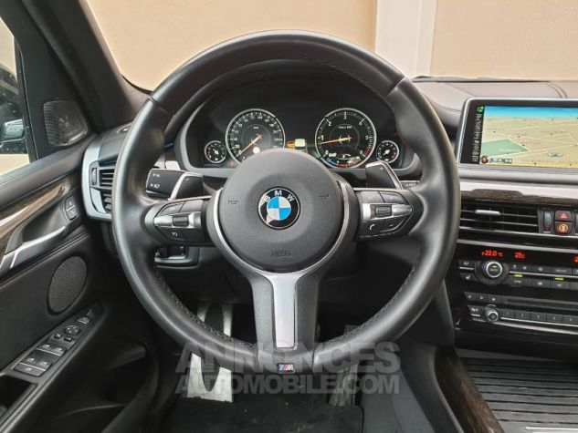 BMW X5 xDrive30dA 258ch Exclusive Saphirschwarz Occasion - 5