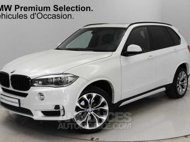 BMW X5 xDrive30dA 258ch Exclusive MINERALWEISS METALLISE Occasion - 0