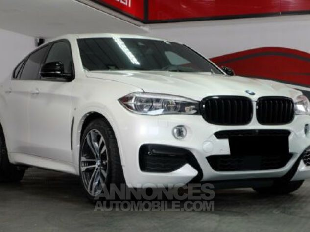 BMW X6 E71 M50D 381CH BLANC Occasion - 0