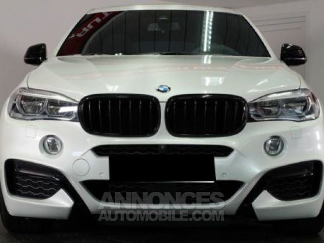 BMW X6 E71 M50D 381CH BLANC Occasion - 1
