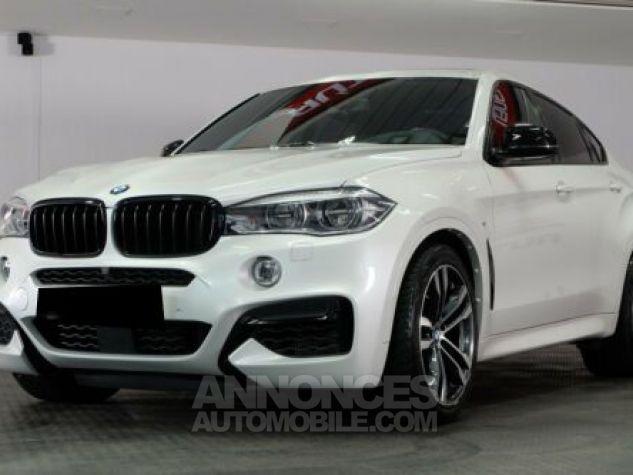 BMW X6 E71 M50D 381CH BLANC Occasion - 2